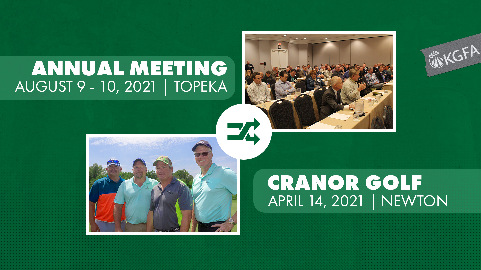 KGFA Switches Cranor and Annual Meeting Dates