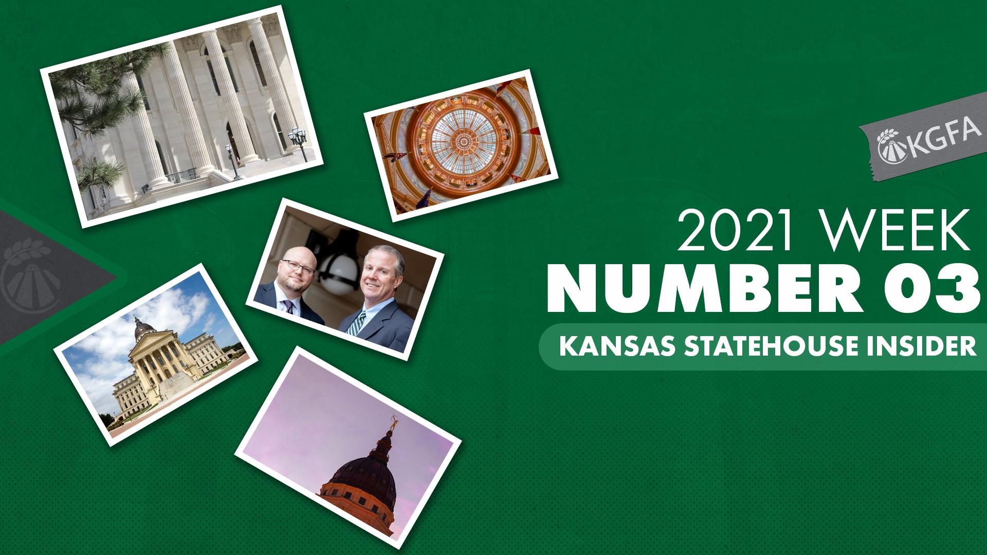 Kansas Statehouse Insider Week 3