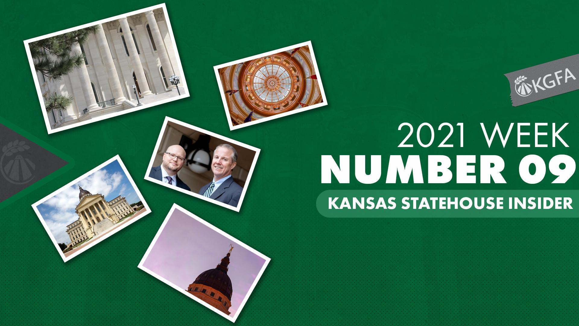 2021 Kansas Statehouse Insider Week Nine