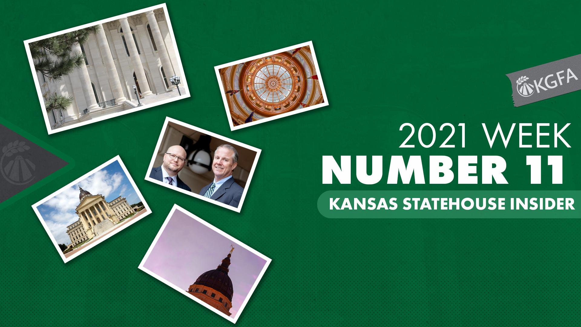 Kansas Statehouse Insider Week 11